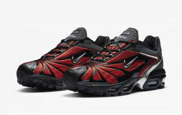 """CU1706-001 Skepta x Nike Air Max Tailwind V """"Bloody Chrome"""" to release on  June 12th"""
